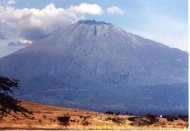 Mount Meru hiking in Tanzania and also Kilimanjaro climb